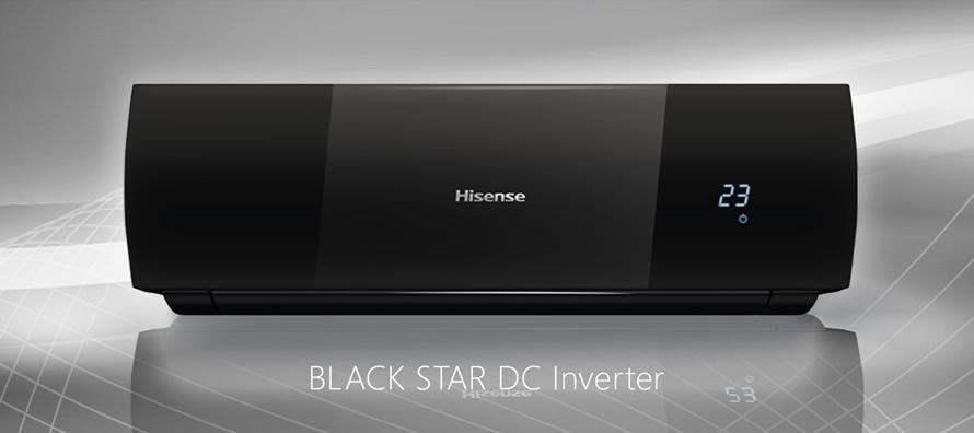 Кондиционер Hisense BLACK STAR DC Inverter