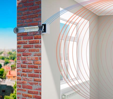 Стеновой приточный клапан Norvind Pro